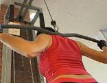 Frau Muskeln Fitness