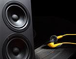 Lautsprecher und Kopfhörer