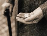 Armut, Symbolbild