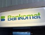 """Schild """"Bankomat"""""""