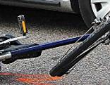 Polizeieinsatz nach Fahrradsturz