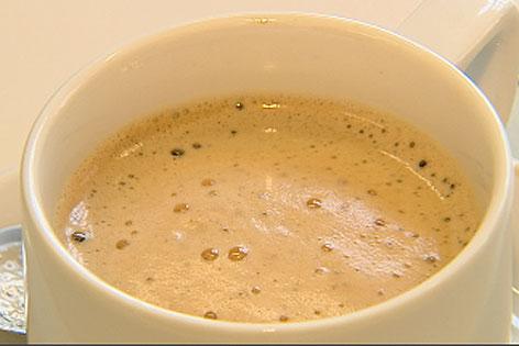 Eine Kaffeetasse