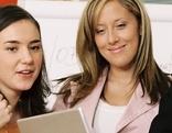 Lehrlinge bei der Arbeit