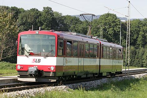 Triebwagen der Salzburger Lokalbahn