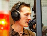 Andreas Hausmann am Mikrofon