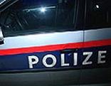 Polizeiauto nachts