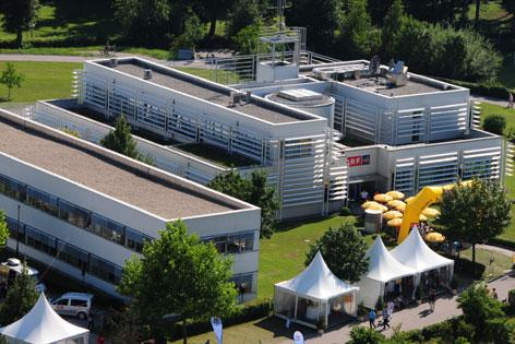 Das ORF NÖ-Funkhaus in St. Pölten