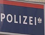 Symbolfoto Polizeischriftzug
