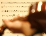 Sujetbild Musik mit Geige