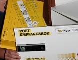 Empfangsbox der Post