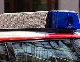 Blaulicht auf Rettungsauto