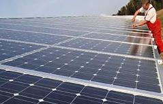 Solarkraftwerk in Bayern