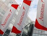 Flaggen der Austrian Airlines