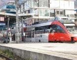 Der Bahnhof am See in Bregenz