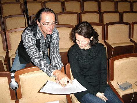 Christian Kolonovits und Angelika Messner