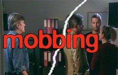 """Schriftzug """"Mobbing"""""""