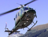 Transporthubschrauber Bell 212 des Bundesheeres