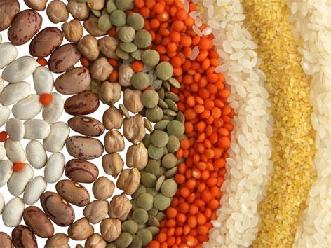 Gesundes Getreide