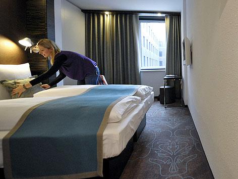 Westbahnhof bekommt low budget hotel wien for Motel one doppelzimmer