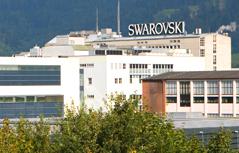 Firmengebäude Swarovski in Wattens