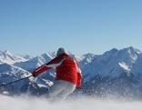 Winter Skifahren Tourismus