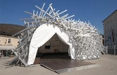 Kunstigel White Noise Kunst Kultur