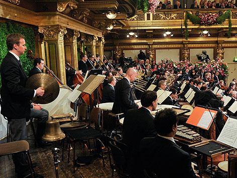 Wiener Philharmoniker bei Neujahrskonzert 2011