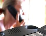 Sujetbild Telefonieren, Telefonseelsorge