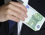 Korruption, Bestechung - Genrebild