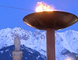 olympisches Feuer Maria Theresienstraße