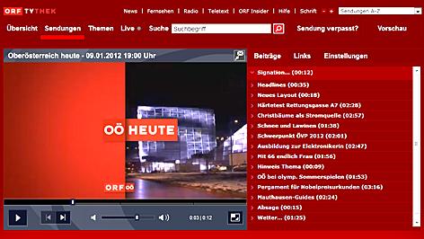Oberösterreich heute in der tvthek