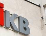 IKB-Logo am IKB-Gebäude