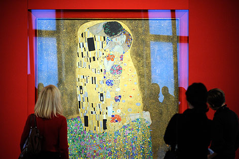 """Klimt-Gemälde """"Der Kuss"""""""