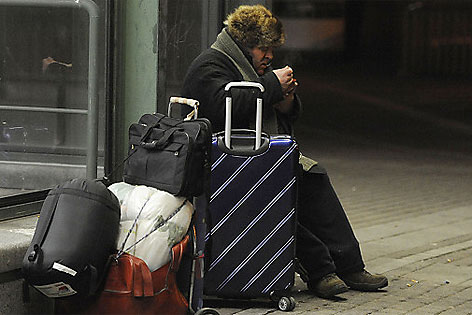 Kälte für Obdachlose immer gefährlicher - wien.ORF.at