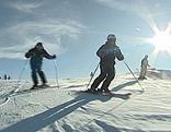 Sujetbild Skifahren