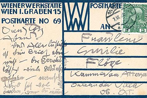 Postkarte Klimt