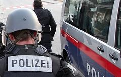Cobra-Beamter bei Einsatz in Oberösterreich