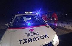 Rettungsauto mit Blaulicht