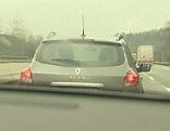 Drängeln Autobahn Rasen Verkehr Abstandsmessung Abstand