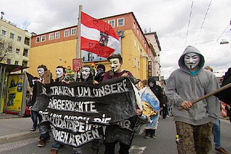Anonymous Vorratsdatenspeicherung