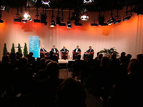 Präsentation im ORF Landesstudio Burgenland
