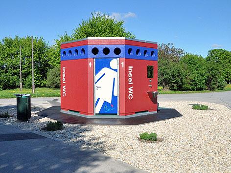 Neue WC-Anlage auf der Wiener Donauinsel