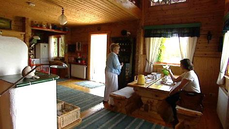finnisches holzhaus im s dburgenland burgenland heute. Black Bedroom Furniture Sets. Home Design Ideas