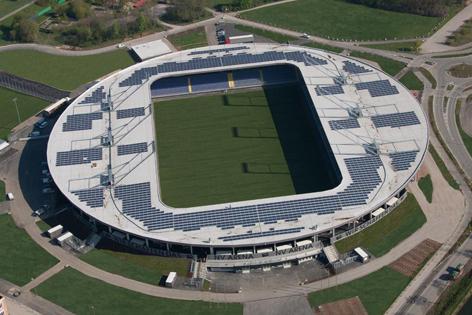Luftbild NV Arena