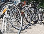 Gestohlene und sichergestellte Fahrräder