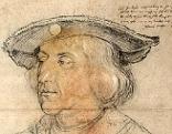 Kaiser Maximilian auf einem Bild Dürers
