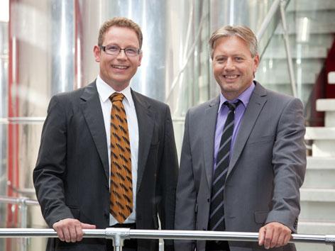 Mitarbeiter ORF Klement und Endrich
