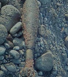 Granate Kriegsrelikt