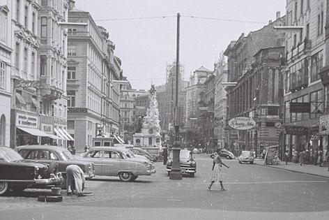 Graben um 1954