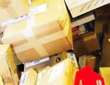 Sujetbild: Berg von Paketen